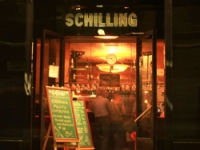 Free additional cocktail in cafe Schilling